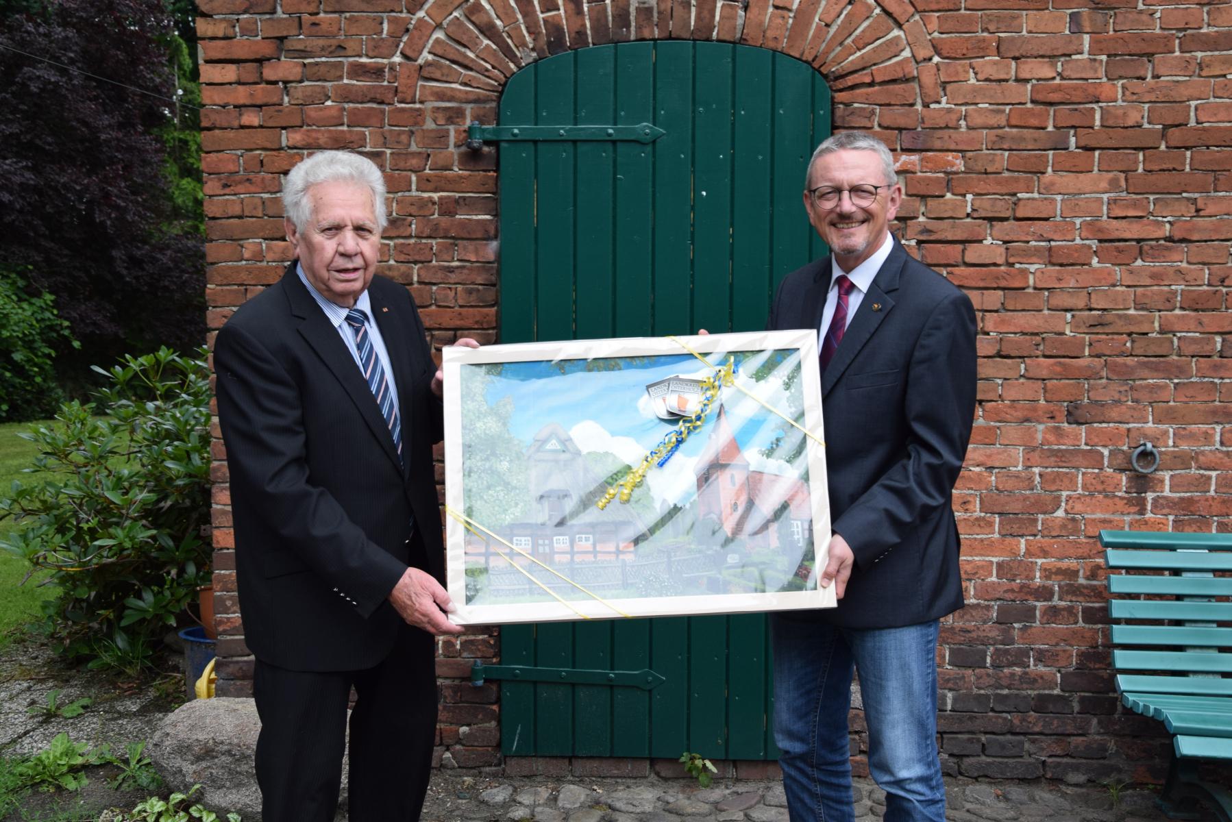 Ehrung für 40 Jahre Kreistag für Friedrich-Humborg (2021)
