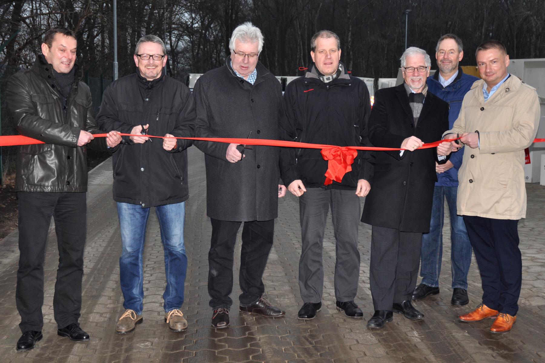 Eröffnung Wertstoffhof Schwanewede (2016)
