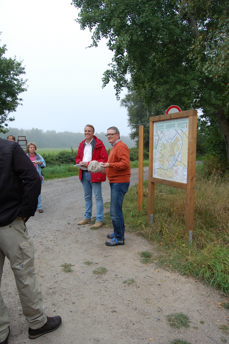 Besuch Umweltminister Wenzel (2014)