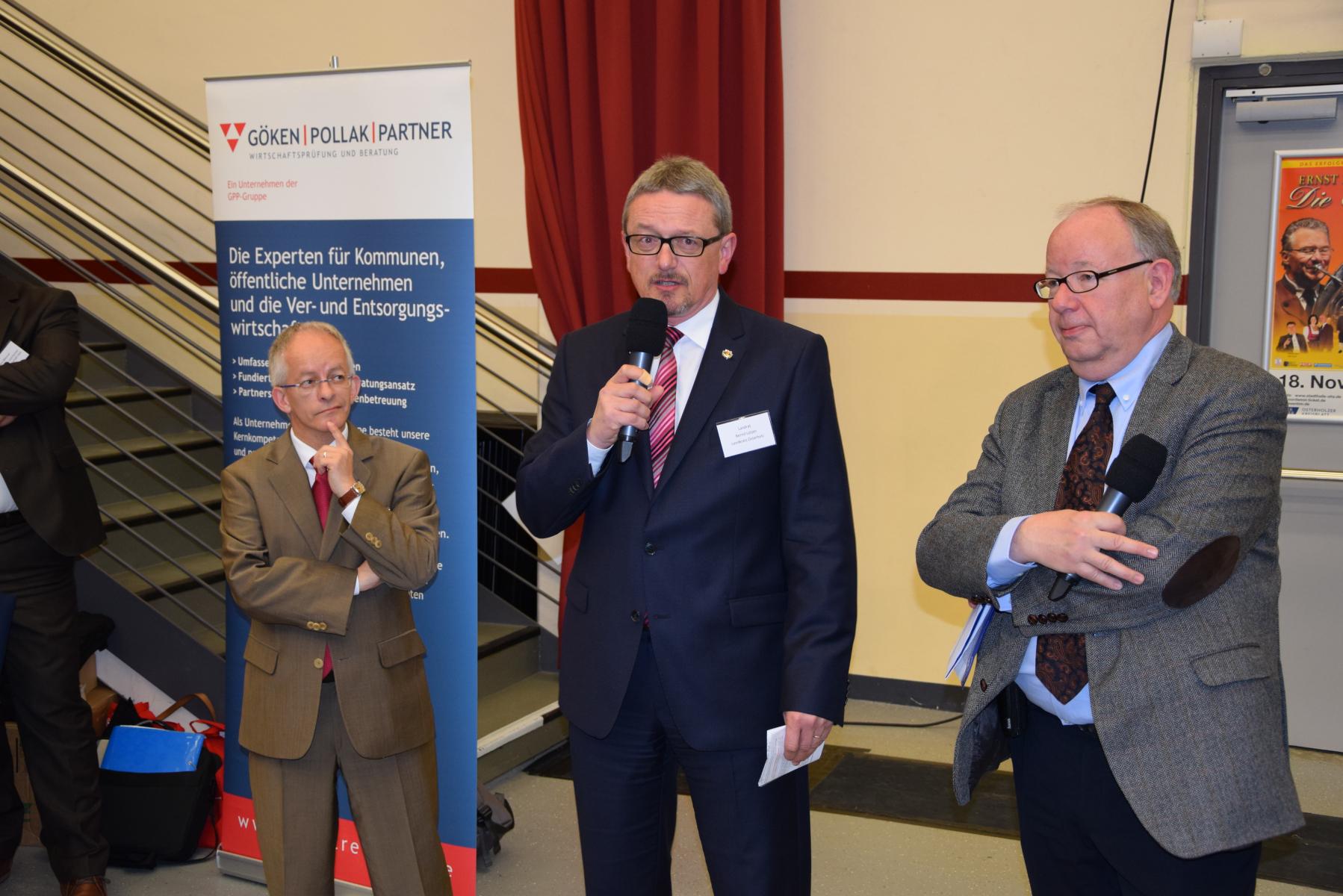 Kommunaler Breitbandmarktplatz (2017) mit Staatssekretär Dr. Jörg Mielke