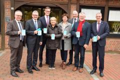 Spendenappell Volksbund Deutsche Kriegsgräberfürsorge (2019) mit den Bürgermeisterinnen und Bürgermeistern
